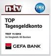 gefa-bank-tagesgeld-laut-ntv-fmh-top-tagesgeldkonto-test-11/2013